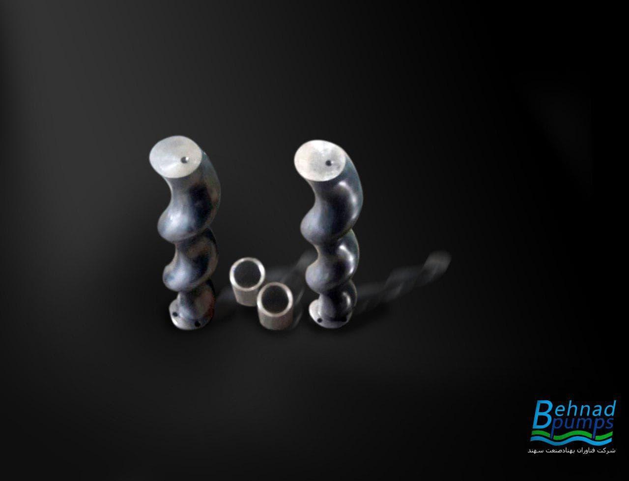 مونو پمپ بهناد جهت انتقال خمیر دندان ,مونو پمپ,فناوران بهناد صنعت سهند,behnad pumps,روتور,استاتور,بهناد پمپ