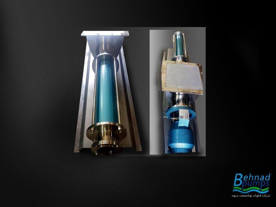 مونو پمپ بهناد جهت انتقال پلیمر , مونو پمپ بهناد جهت انتقال پلیمر,مونو پمپ,فناوران بهناد صنعت سهند,behnad pumps,روتور,استاتور,بهناد پمپ